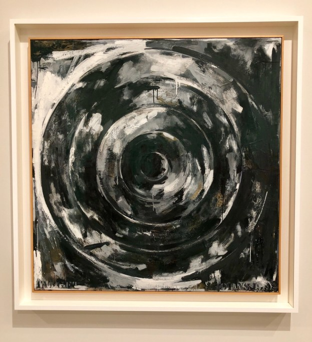 Jasper Johns, Target, 1992, The Broad, Los Angeles